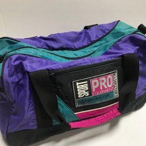 Vintage 80's-90's Duffle Bag Color Block
